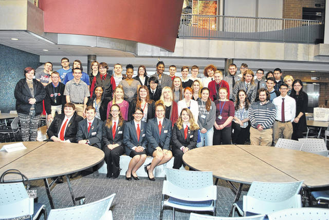 Butler High School Business Professional of America students at MVCTC excelled at the recent BPA regional contest.