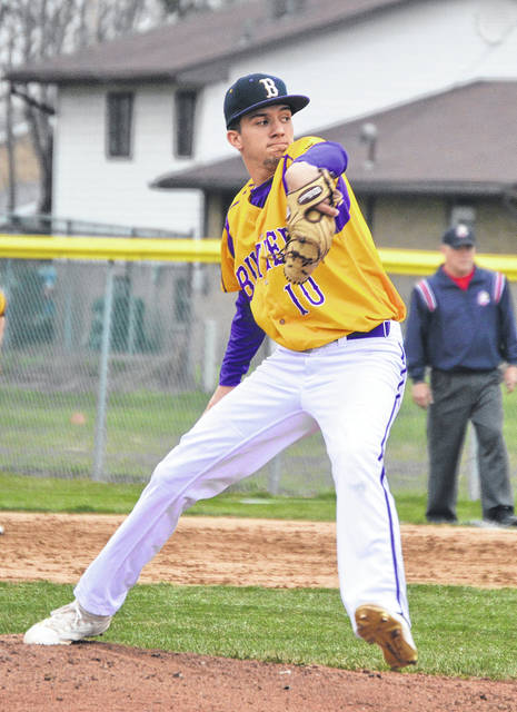 Braedon Norman allowed just one unearned run in six innings versus Troy.
