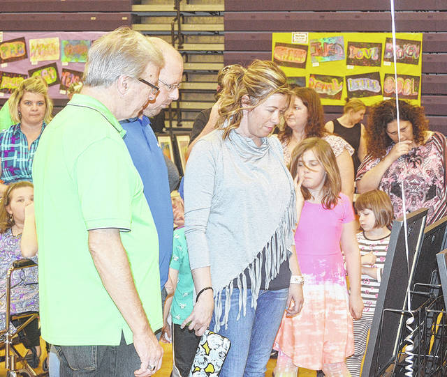 Students and their parents from Vandalia-Butler elementary and middle schools celebrated visual and performing arts at the district's annual Elevate the Arts last Thursday.