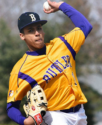 Quinton Hall held Sidney hitless for two innings after getting the start on Wednesday.