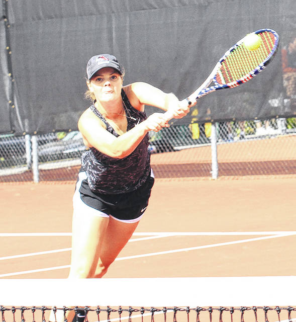 Indiana University East sophomore Morgan Jackson, a 2016 Butler graduate, was one of six players named to the River States Conference all-conference first-team, the league announced May 1. Jackson played No. 1 singles and No. 1 doubles this season for the Red Wolves, who recently finished their season with a 14-7 record. Jackson was 6-2 in conference matches and was the only player in the conference to defeat the league's eventual player of the year.