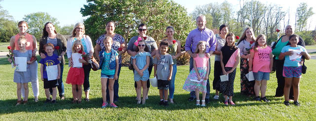 Winners in the 20th Annual Vandalia Parks and Recreation Rose for Mom essay contest were announced last week.