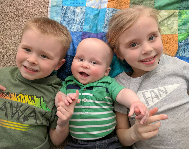 Garner, Judd, and Aela Shumaker will welcome a new baby brother this fall.
