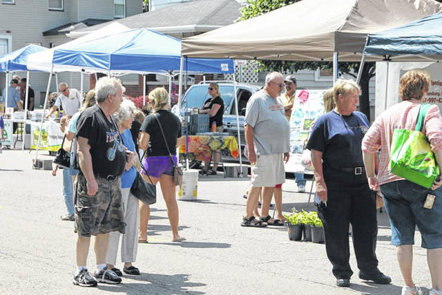 The Vandalia Community Farmer's Market will open for the 2018 season on Friday, June 15. The market will be open 4-7 p.m. each week through August 31.