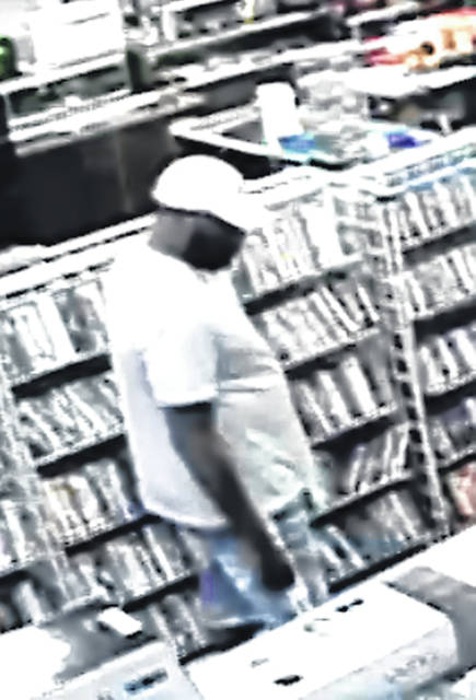 The Montgomery County Sheriff's Department is seeking the identity of these suspects in a theft from Dugan's Pawn Shop on N. Dixie Drive in Harrison Township.
