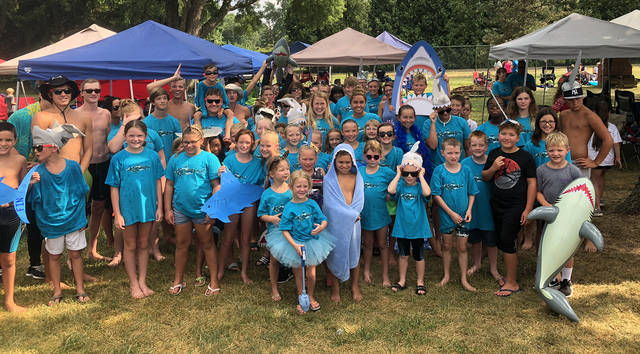 The Fair Valley Fins defended their title as GDSA league champions for the third consecutive year at the Greater Dayton Swimming Association championship meet.