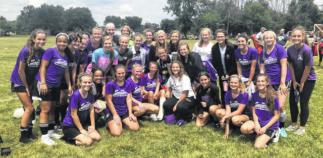 The Butler girls soccer team under new head coach Burt Mattice recently participated in the Northmont Good Samaritan Soccer Classic, a pre-season tournament featuring 19 high school teams in the region. The Aviators faced Richmond Indiana, Bellbrook II, Troy II, and Brookville.