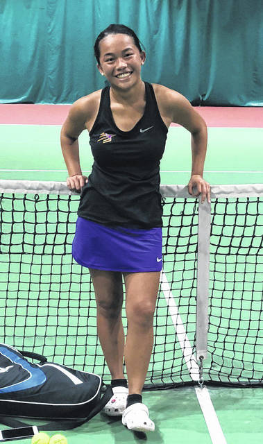 Xia Lin (pictured) won the Troy sectional tournament while the doubles teams of Ashely Hess/Hannah Scarpelli and Tori Studebaker/Rachel Burton also advance to the District tournament. The Southwest District tournament will begin Thursday at the Linder Family Tennis Center in Mason.