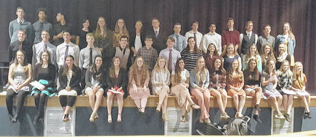 Butler students were recently inducted into the National Honor Society. A full list of inductees can be found in the accompanying story.