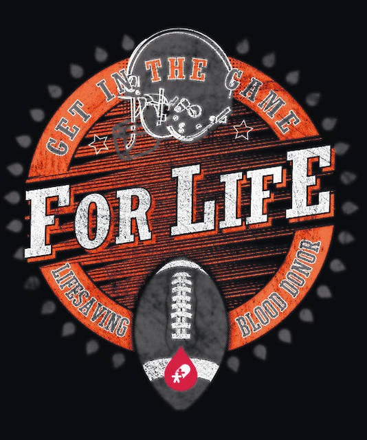 "The ""Get in the Game For Life – Lifesaving Blood Donor"" campaign celebrates November as the time of year when football championships are made. The CBC fall t-shirt honors donors as champions for saving lives."