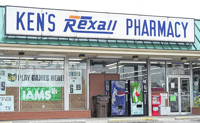 Ken's Pharmacy will close on December 18 after 50 years of business. All prescription files will be transferred to Rite Aid.