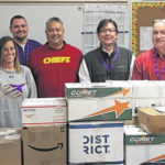 Students, teachers send care packages to troops