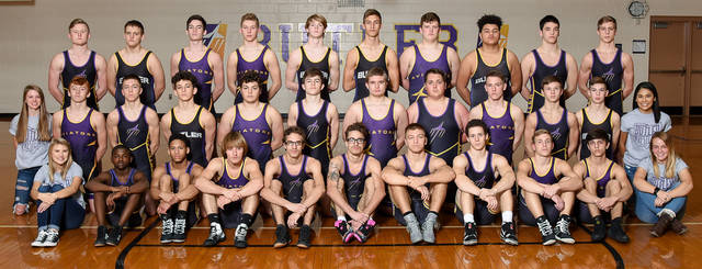 The Butler wrestling team dominated Carroll in a dual match on Saturday by a 56-24 margin.