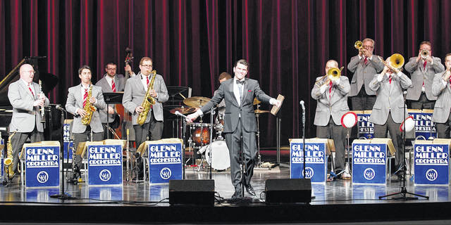 The legendary Glenn Miller Orchestra from New York will perform for one night only at the Victoria Theatre.