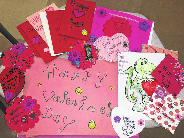 Morton Middle School students recently made Valentines for Dayton Children's Hospital in advisory classes. There are 212 awesome looking valentines waiting to be delivered.