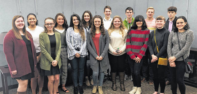 These Butler High School students spent 2019 Youth in Government Day at the City of Vandalia.