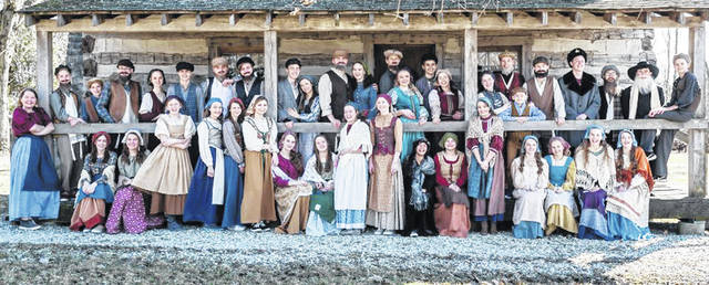 The cast of School on the Rock's spring musical will perform <em>Fiddler on the Roof</em> March 28-30.