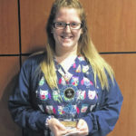Branscomb named Student of the Month