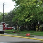 Housefire causes damage