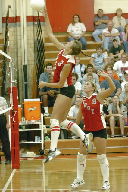 Mike Ullery   Civitas Media Former Troy High School volleyball player Beth Greulich Coduti will be inducted into the Trojan Athletic Hall of Fame later this week.