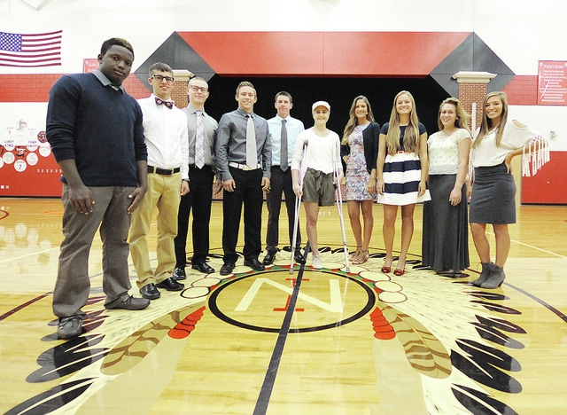 Anthony Weber | Troy Daily News Newton High School recently announced its 2015-2016 homecoming court. The court includes Moustafa Simpara, Atley King, Nick Hoover, Wade Ferrell, Brock Jamison, Sierra Flanary, Maria Evers, Erin Sweitzer, Rose Studebaker, Rylee Schauer. A parade will kick-off Newton's Homecoming festivities around 6 p.m. Friday. Crowning for king and queen will take place prior to the boys varsity soccer game against Jackson Center. A homecoming dance is scheduled Saturday at the school from 8 -11 p.m.