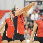 Troy's Freed dominates with serve in win over Greenville