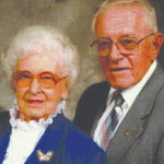 Beckers celebrating 75 years of marriage