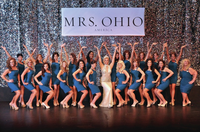 Provided photo Pictured are Mrs. Ohio 2015 and other contestants in last year's pageant. The pageant is now accepting applications from married women to represent Miami County as a state finalist in the 2016 competition, which will take place next spring in the Columbus area.