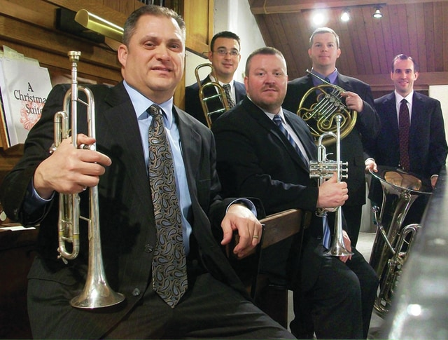 Provided photo The 2015 Holiday Concert will be at 7:30 p.m. Thursday, Dec. 17, with the Oakwood Brass ensemble, at the Troy-Hayner Cultural Center, Troy.