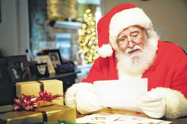 Provided photo Letters to Santa are now being accepted at SantaatMiamiCounty.yahoo.com. On Wednesday, Dec. 24, the <em>Troy Daily News</em> will publish the letters in the newspaper.