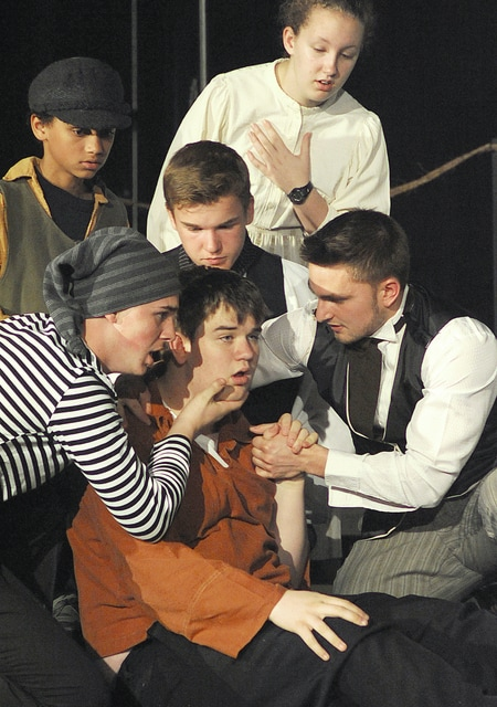 Anthony Weber | Troy Daily News Bethel High School will present Les Misérables this weekend at the school in Tipp City. Show times are Friday at 7 p.m., Saturday at 1 p.m. and 7 p.m., and Sunday at 3 p.m.