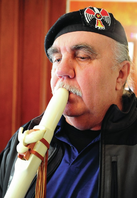 Mike Ullery | Daily Call John DeBoer and his flute have been a much-anticipated sight and sound at the parks and schools in Miami County.