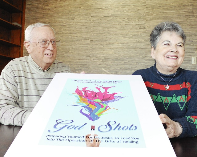 "Anthony Weber | Troy Daily News Pastors Mike and Judy Magel from Christian Family Fellowship Ministry discuss their healing ministry and recently published book ""God Shots."""