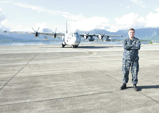 Provided photo Petty Officer 2nd Class Trevor Dixon, a 2010 Piqua High School graduate, is assigned to the Navy's U.S. Pacific Fleet Headquarters at Pearl Harbor.