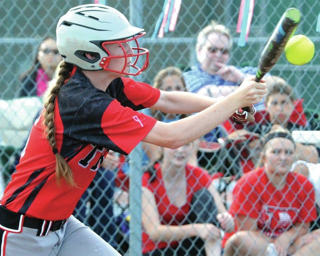 Mike Ullery | Civitas Media file Troy senior Lauryn Rutan has signed a letter of intent to play softball and run cross country at Ohio Christian University.