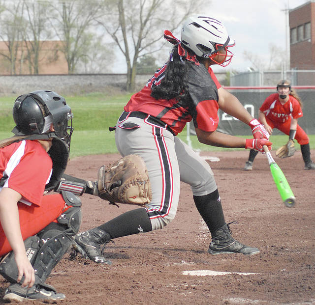 Anthony Weber/Troy Daily News file Troy's Savannah Nelson was tied for the overall GWOC lead in RBIs last season.