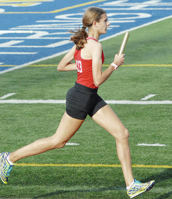 Anthony Weber | Troy Daily News State qualifier Emma Shigley returns in the distance events for Troy.