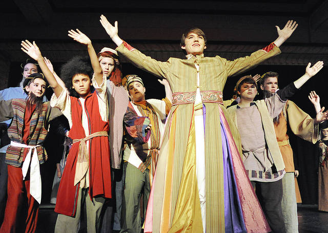 "Anthony Weber | Troy Daily News Bethel High School will present ""Joseph and the Amazing Technicolor Dreamcoat"" by Andrew Lloyd Webber. The show will open Thursday and Friday at 7 p.m., Saturday at 2 p.m. and 7 p.m."