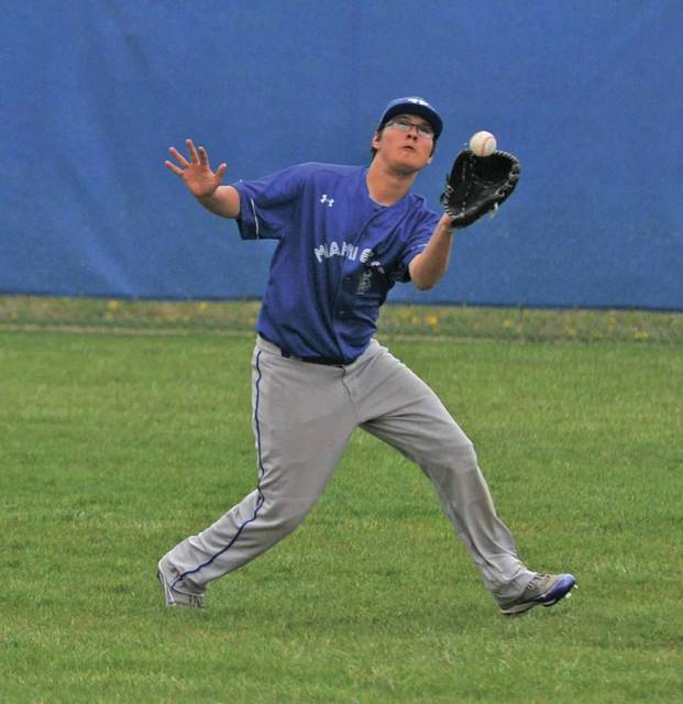 Josh Brown | Troy Daily News Jacob Arthur could play a number of roles for the Miami East baseball team this spring.