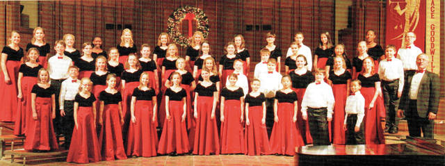 Provided photo The Kettering Children's Choirs will perform at First United Methodist Church in Troy at 3 p.m. Sunday, April 8, one of two upcoming Troy Mayors' Concerts.