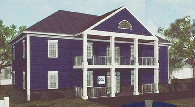 Provided An artist's rendition of the new Partners in Hope facility in Troy.