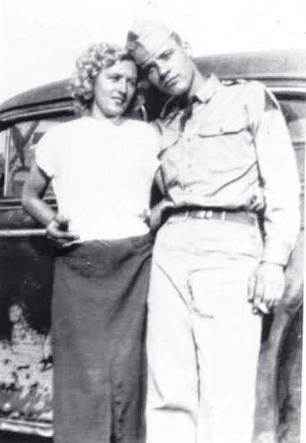 Provided photo Florence (Jean) Marshall and John Adams were on July 4, 1953 in Willard, Ky.