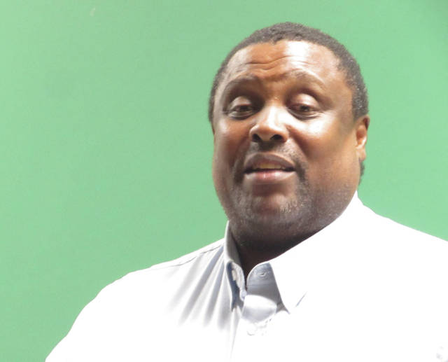 Sam Wildow | Daily Call Piqua City Commissioner Kris Lee, a descendant of the Randolph freed slaves, recounts how he lived in Rossville in Springcreek Township during his early childhood.
