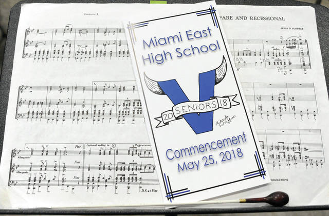 Miami East Class of 2018 Commencement ceremony at Hobart Arena on May 25, 2018