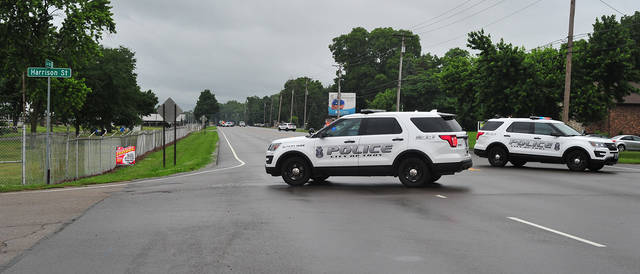 Mike Ullery | Daily Call Miami County Sheriff's Deputies and Troy Police are on the scene of an incident involving a gun on County Road 25-A near the Miami County Fairgrounds. 25-A is blocked to traffic from both directions. Initial reports were of a man with a gun and at least one shot possibly fired. One man is in custody. We are working on this developing story.