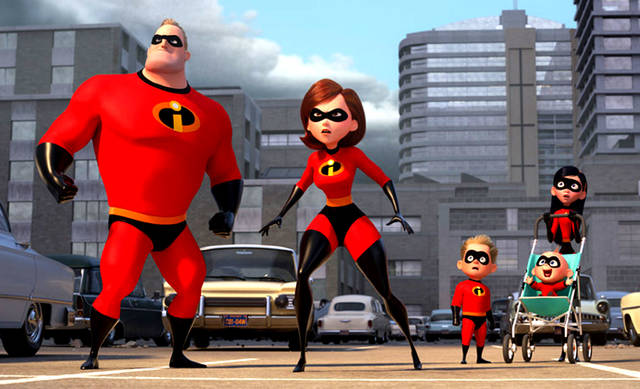 "Provided Photo The Parr family is back in action in ""Incredibles 2."""