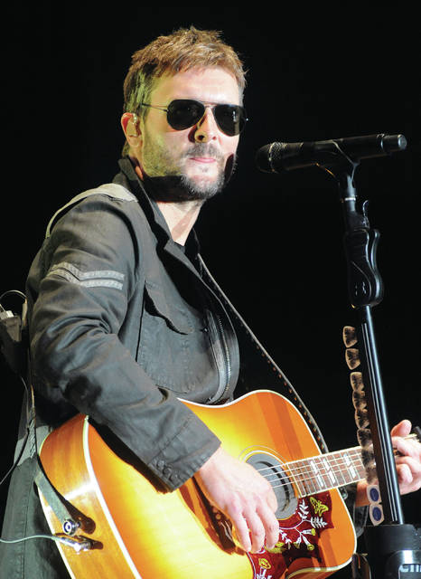 Mike Ullery   AIM Media Midwest County Concert 2018 headline act Eric Church closes the show on Saturday with a performance in front of a crowd numbering in the tens-of-thousands.