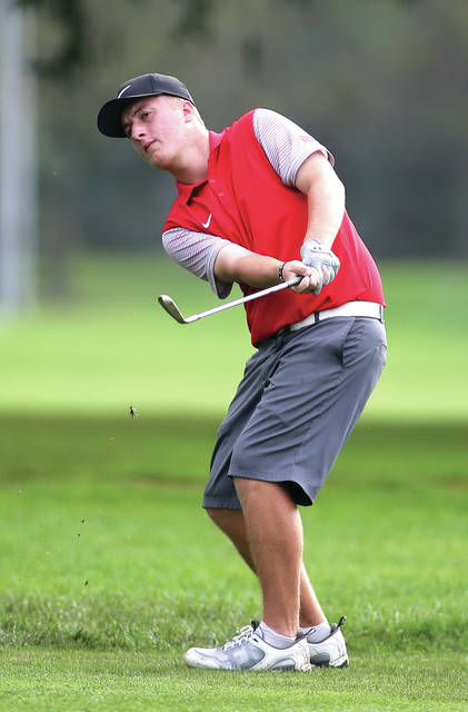 File photo courtesy of Lee Woolery | Speedshot Photo Four-year varsity letterwinner Holden Scribner returns to lead the Troy boys golf team this season.