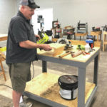 Hobart interns fabricate specially designed tables