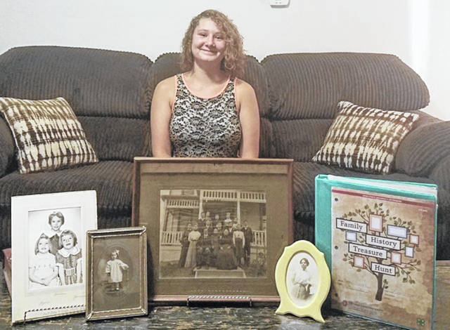 Pami Parke, 16, of Covington, was selected to represent Miami County at the Ohio State Fair with her family history research project. She is a member of the Premier Livestock 4-H Club.